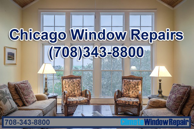 Triple Track Glass Repair in Chicago Illinois